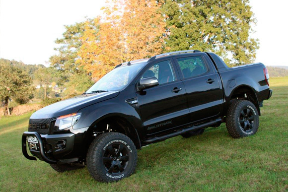 Ford Ranger Tuned by Michaelis Höherlegung, Body-Lift-Satz, 285/70 R17 Bereifung